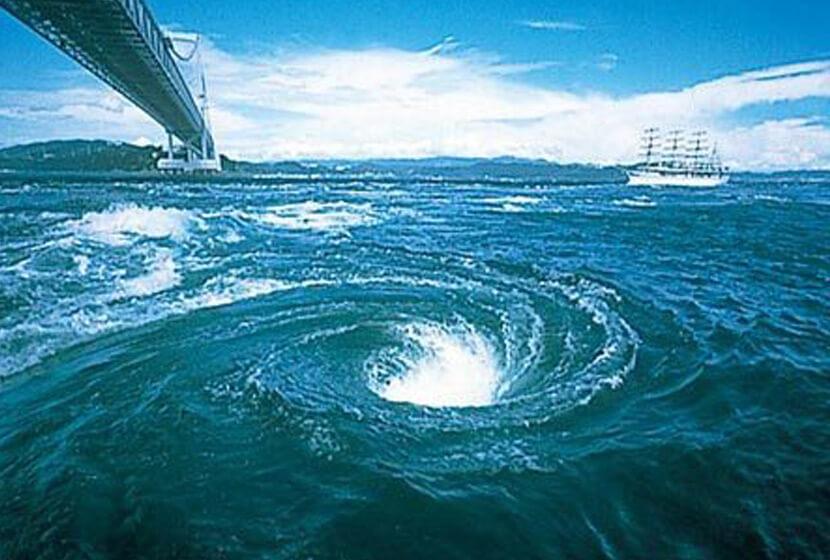 鳴門の渦潮